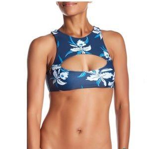 NWT Mikoh Marrakesh Cutout Bikini Crop Top
